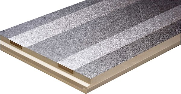 puren metal roof insulation element
